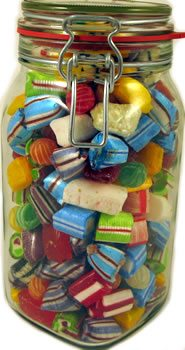 Handmade Boiled Sweets Kilner Jar