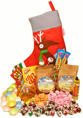 A Reindeer Stocking Packed with Nostalgia - Christmas  gift
