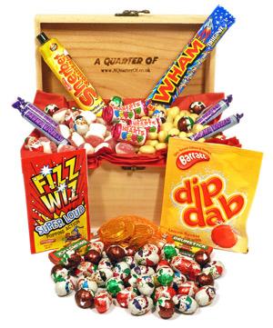 A Small Wooden Box of Festive Fun