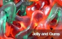 jelly and gums