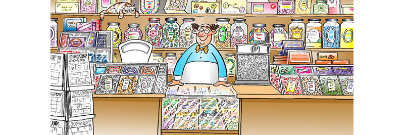 your old fashioned sweetshop is now online
