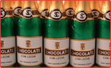 Chocolate Champagne Bottles From A Quarter Of