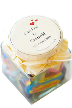 Customised Sweets: Retro Sweets In A Personalised Jar