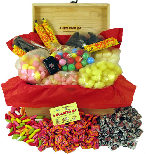 Decades boxes of retro sweets make unique anniversary gifts