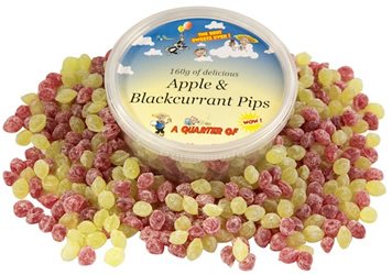 Apple and Blackcurrant Pips