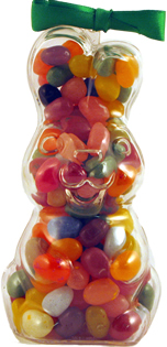 Assorted Gourmet Jelly Bean Bunny – Upright