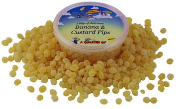 Banana and Custard Pips