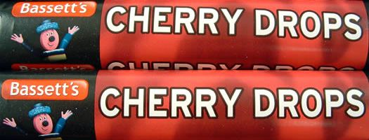CHERRY DROPS,gelatine-free gelatin free wrapped Boiled   Crunchy  Fruit  Cherry  Boiled & Crunchy  sweets,retro sweets,retro sweetshops,liquorice sweets,toffees,toffee sweets,boiled sweets