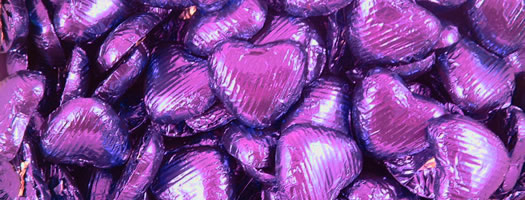 Chocolate Hearts – Purple Party