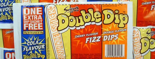 DOUBLE DIP - ORIGINAL,sherberts sherbert Sherbet  Lollies   Dips  Powder  Nostalgic  Barratts  Lollies & Dips  sweets,retro sweets,retro sweetshops,liquorice sweets,toffees,toffee sweets,boiled sweets