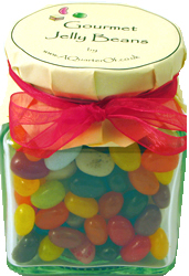 Glass Gift Jar – Gourmet Jelly Beans