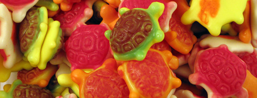 Jelly Filled Turtles
