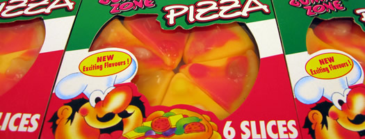 Jelly Pizza Slices