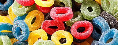 JELLY SPORTS RINGS aka Olympic Rings,soft fruity coloured gummy gum jelly circle round olympic chewy chew aka Olympic Rings,retro sweets,retro sweetshops,liquorice sweets,toffees,toffee sweets,boiled sweets