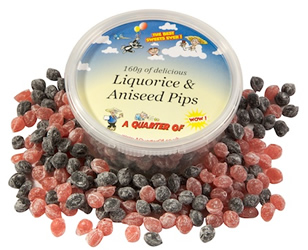 Liquorice and Aniseed Pips