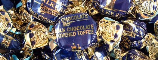 Milk Chocolate Covered Toffees