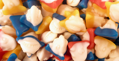 SHARK HEADS,Fish fishy swim gum gummy chewy soft fruit fruity scary fun novelty swim ,retro sweets,retro sweetshops,liquorice sweets,toffees,toffee sweets,boiled sweets