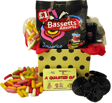 Small Gift Assortment – Luscious Liquorice