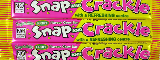 Snap and Crackle Bar