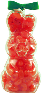Strawberry Smoothie Gourmet Jelly Bean Bunny – Upright