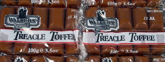 TREACLE TOFFEE SLABS, wrapped Chewy   Soft  Toffee  Treacle  Walkers  Chewy & Soft  sweets,retro sweets,retro sweetshops,liquorice sweets,toffees,toffee sweets,boiled sweets