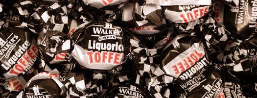 Walkers Liquorice Toffee