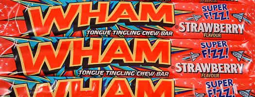 Wham Strawberry Fizz Bars