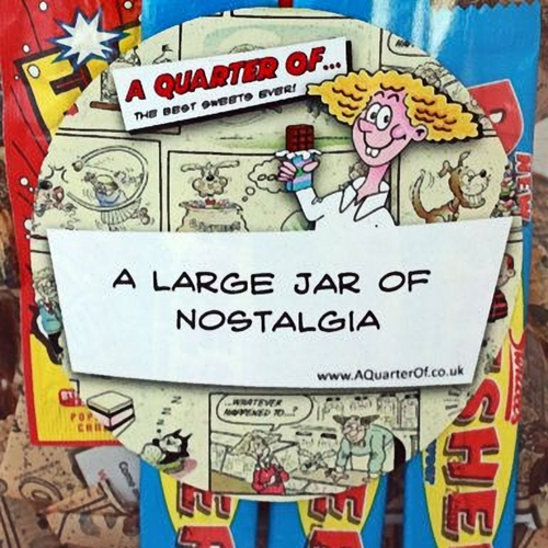 Personalised Sweets Jar of Nostalgia