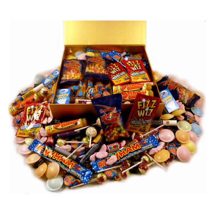 Personalised Box of Retro Sweets