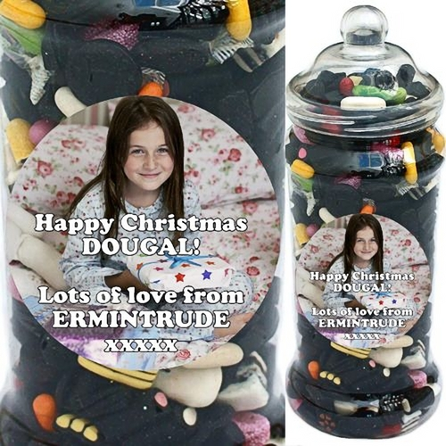 Jumbo Personalised Liquorice Selection Jar