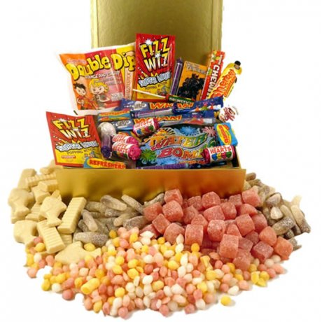 Personalsied Box of Sweets Nostalgia