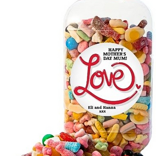 Personalised Penny Sweets Mix Jar