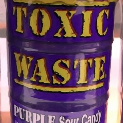 Toxic Waste Purple