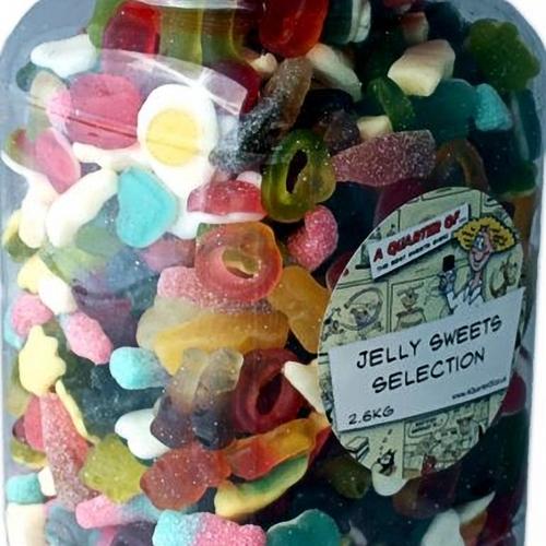 jelly sweets selection jar aquarterof. Black Bedroom Furniture Sets. Home Design Ideas
