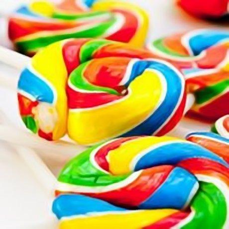 Disco Pop Swirly Lollies
