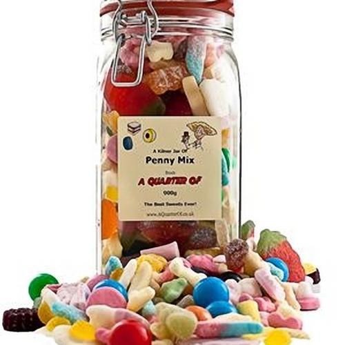 Penny Mix Kilner Jar