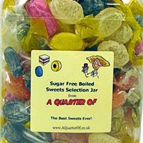 Sugar Free Sweets Selection Jar