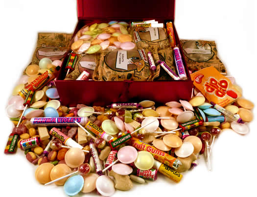 Image of 1960s Decade Box... Sweets from the Swinging 60s! (Large)