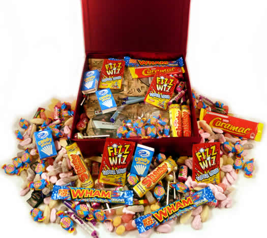Image of 1980s Decade Box... Ace Sweets from your 80s Childhood - Large