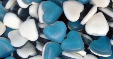 Haribo Blue Heart Throbs