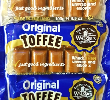 Creamy Toffee Slabs