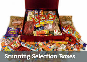 retro sweet selection boxes