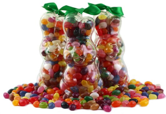 Assorted Gourmet Jelly Bean Bunny - Upright