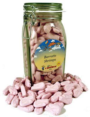 Barratts Shrimps in a Kilner Jar