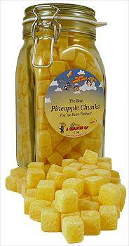 The Best Pineapple Chunks in a Kilner Jar