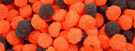 Blackberry and Raspberry Domes
