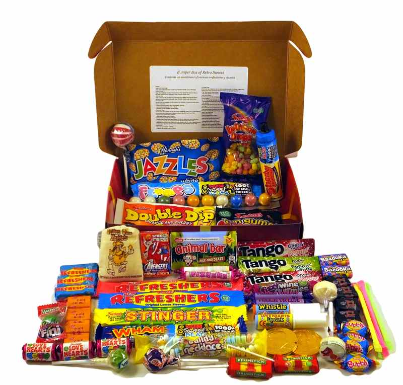 PERSONALISED Bumper Box Of Sweets