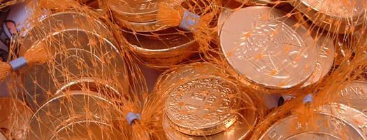 Chocolate Coins (Nets)