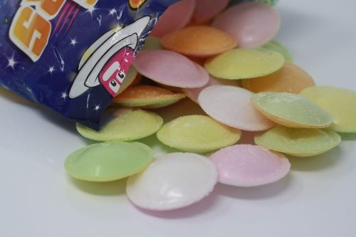 Flying Saucer Sweets