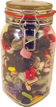 Liquorice Kilner Jar